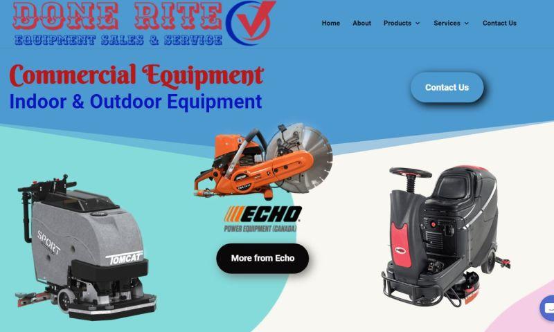 Designo Graphy Canada - Done Rite Equipment Sales & Service
