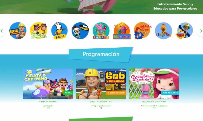 OptFirst Internet Marketing - Children's Media Website (in Spanish)