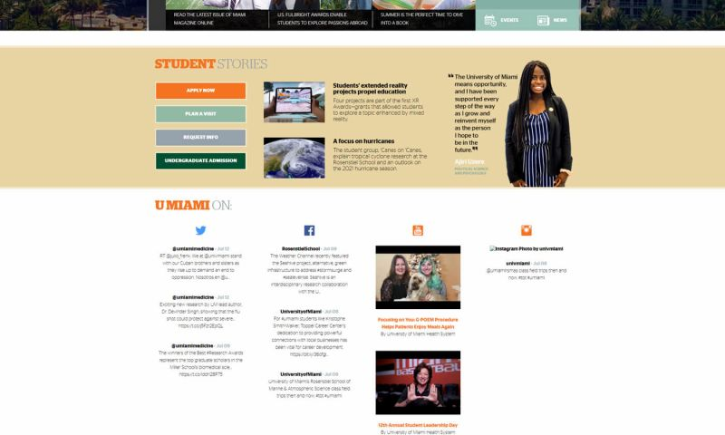 OptFirst Internet Marketing - University Landing Page/Ads Campaigns
