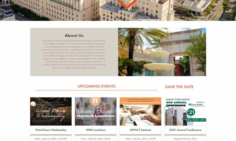 OptFirst Internet Marketing - Chamber of Commerce Website Development