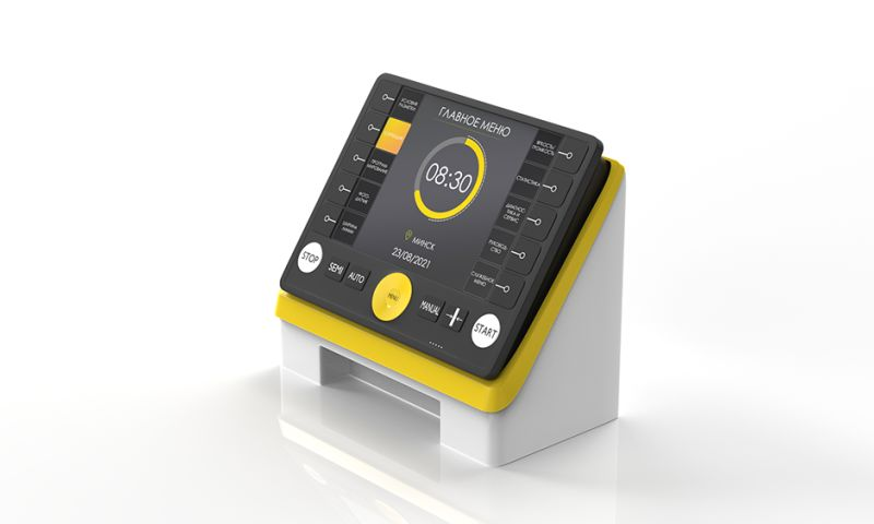 Verdesta - How to improve the competitiveness of a complex device. Redesign of the road marking remote controller