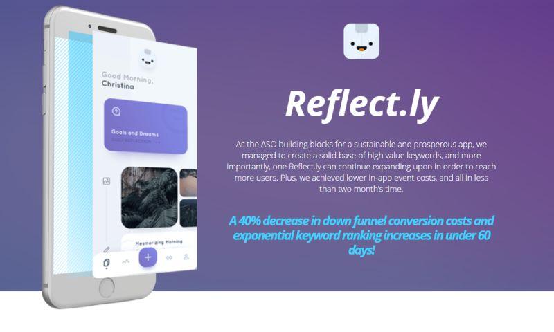 Moburst - App Store Optimisation for Reflect.ly