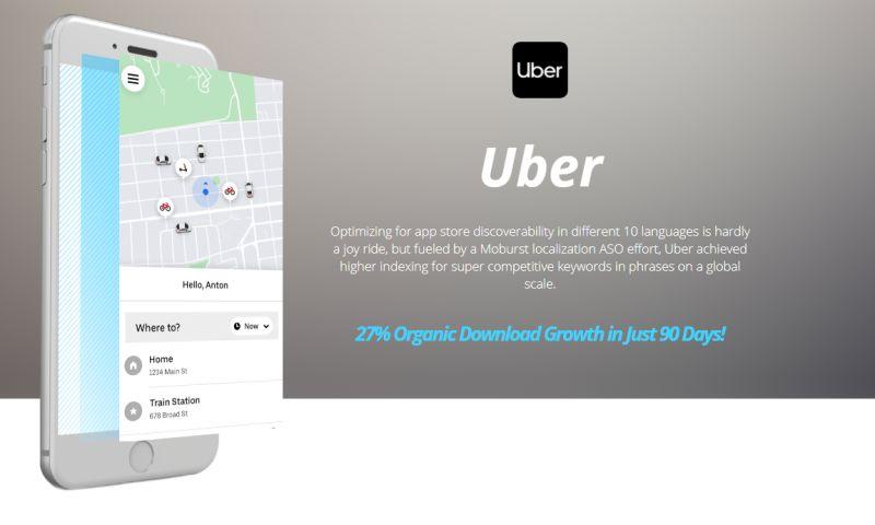 Moburst - ASO for Uber