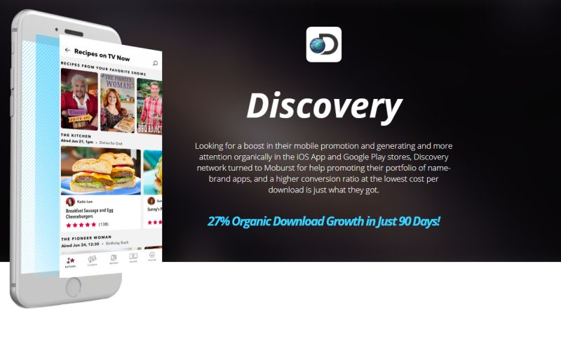 Moburst - ASO for Discovery