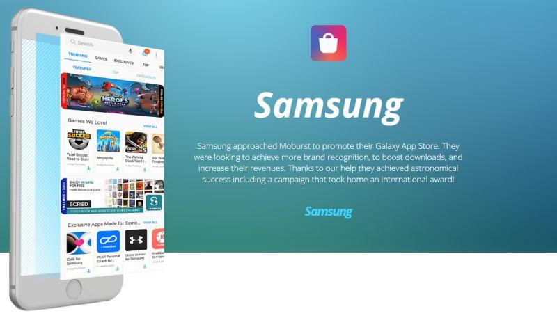 Moburst - Branding for Samsung
