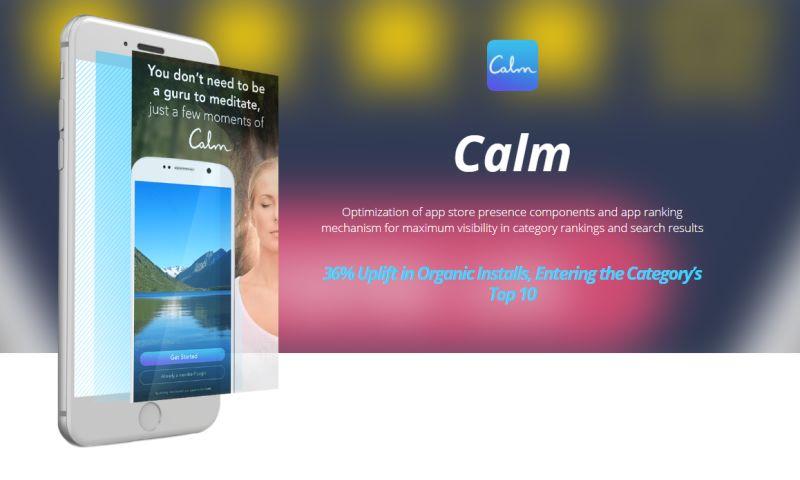 Moburst - ASO for Calm