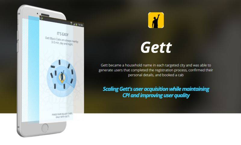 Moburst - Marketing for Gett