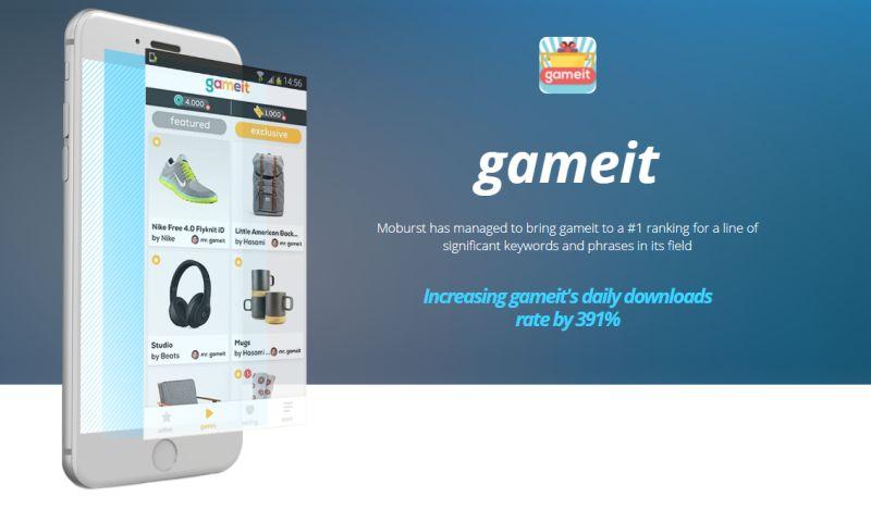 Moburst - Marketing for gameit