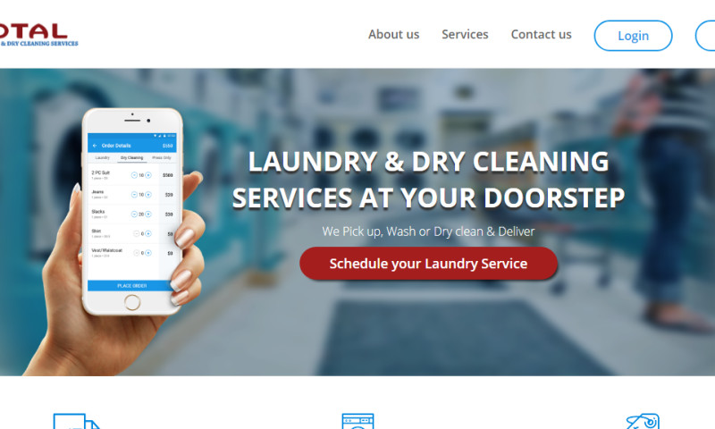 Roamsoft Technologies Pvt Ltd - Total Laundry and Dry Cleaning Services