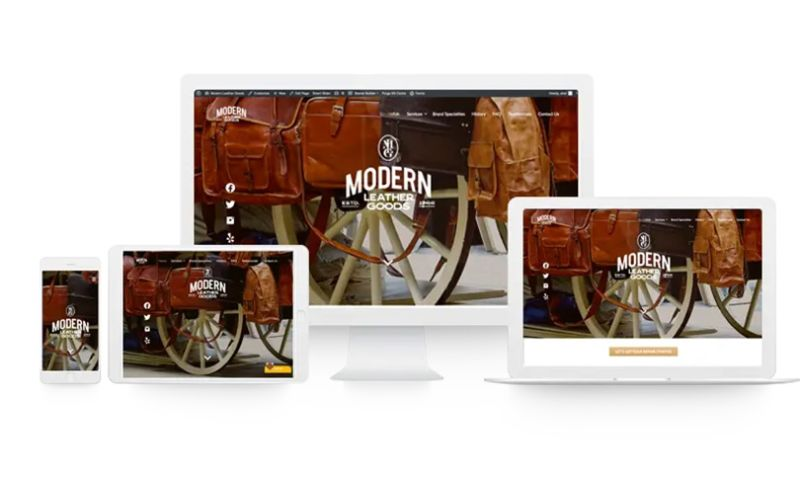 Aronson Hecht Agency - Modern Leather Goods