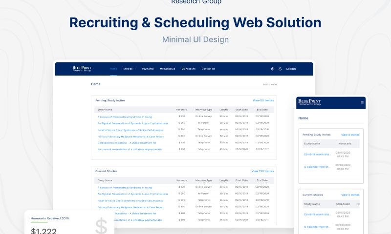 WebMob Technologies - Online Recruiting and Scheduling Web Solution.