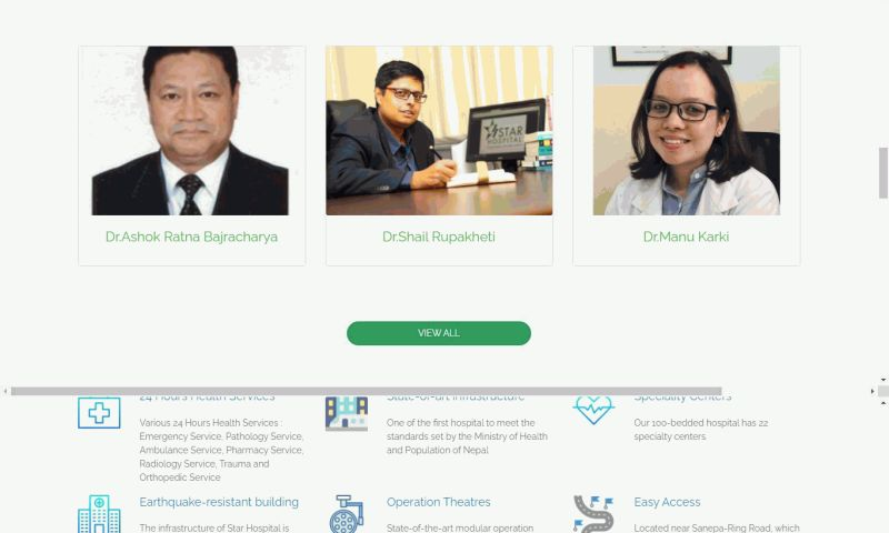 NepGeeks Technology - Star Hospital