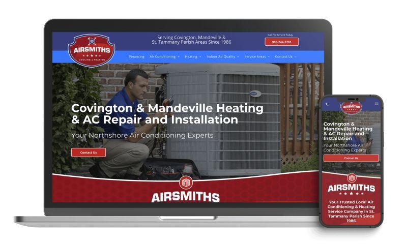 ServiceHawk Digital Marketing - Airsmiths Cooling & Heating