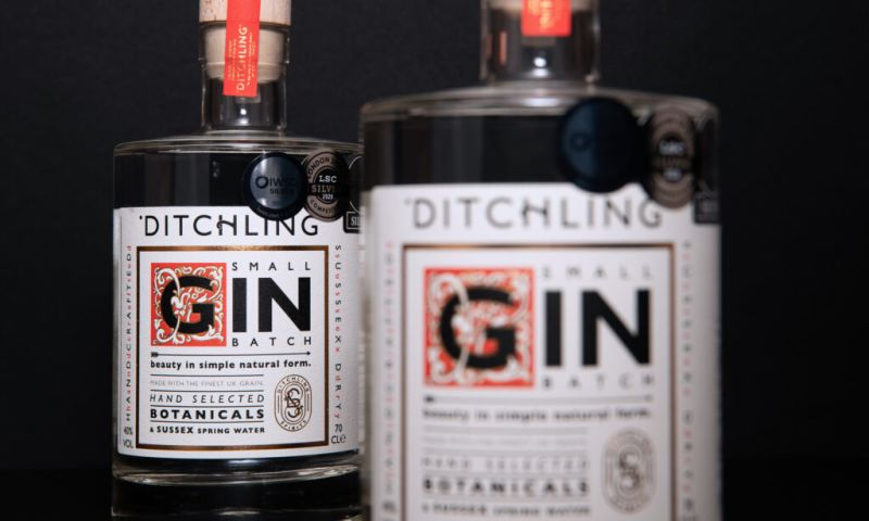 Graphic Brands - Ditchling Gin