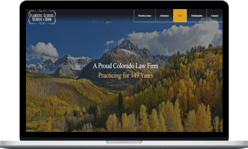 Colorado SEO Design - Law Firm Web Design