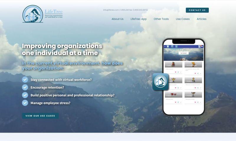 LSI Media LLC - LifeTrec Logo and Web Design