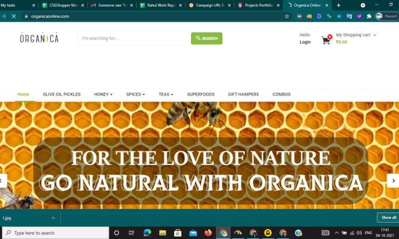 CSSChopper - Organica Pure Farms