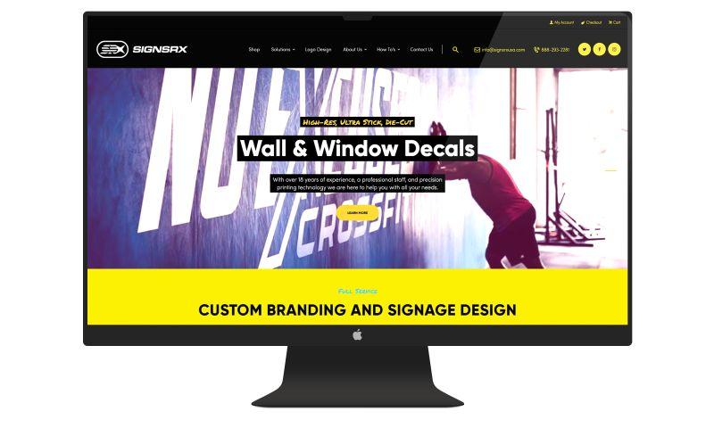 Denver Web Design - SignsRX USA