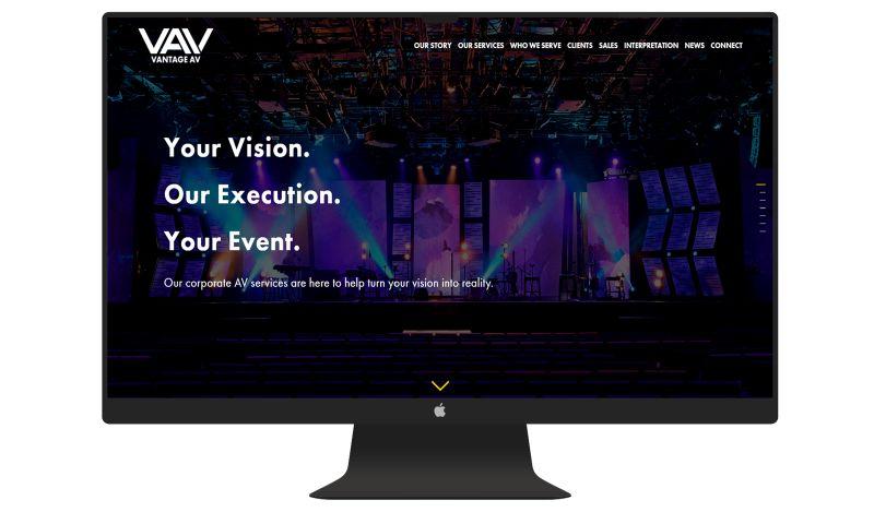 Denver Web Design - Vantage AV