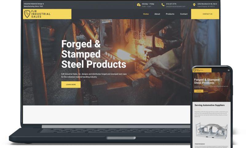 Buddy Web Design & Development - FJR Industrial Sales