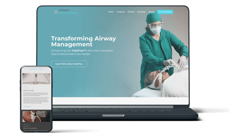 Buddy Web Design & Development - Airway Innovations