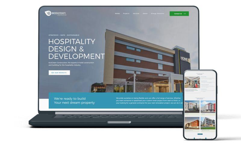 Buddy Web Design & Development - EcoGreen Construction