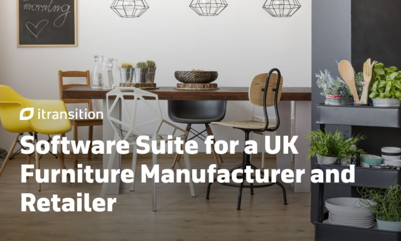 Itransition - Software Suite for a UK Furniture Manufacturer and Retailer