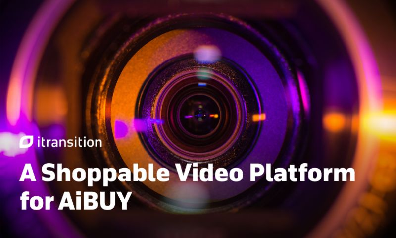 Itransition - A Shoppable Video Platform for AiBUY