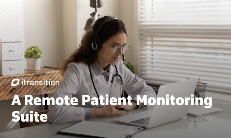 Itransition - A Remote Patient Monitoring Suite
