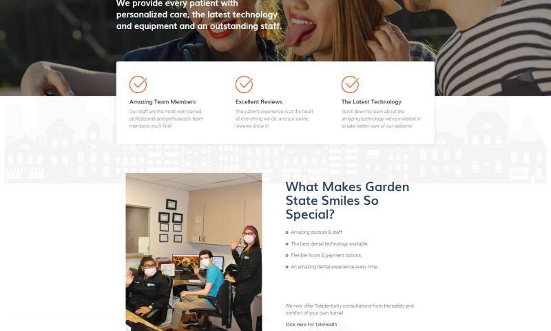 UNLEASH Marketing - Dental Practice Website Design