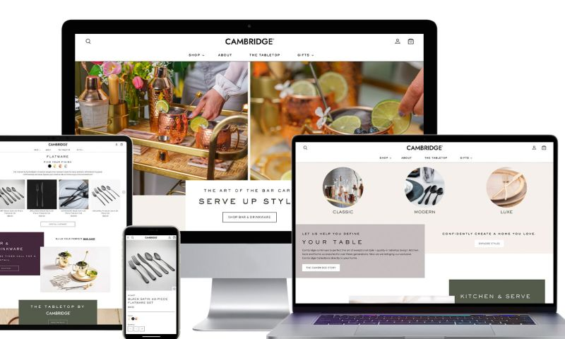 Digital Retail Partners - Cambridge Home
