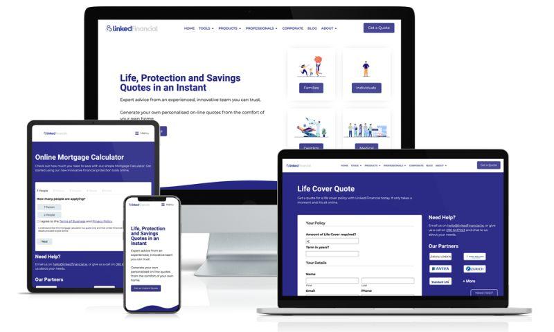 VM Digital - Linked Financial Website