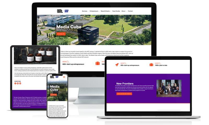 VM Digital - Media Cube Website