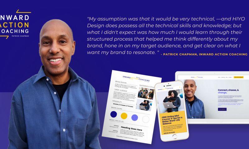 HIYO DESIGN - Inward Action Coaching: Branding & Web Design