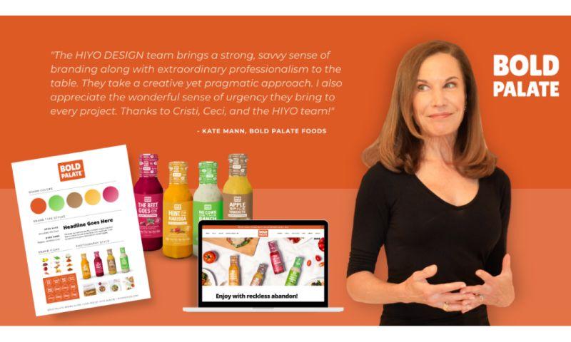 HIYO DESIGN - Bold Palate Foods: Branding, Web Design, Packaging, Social Media