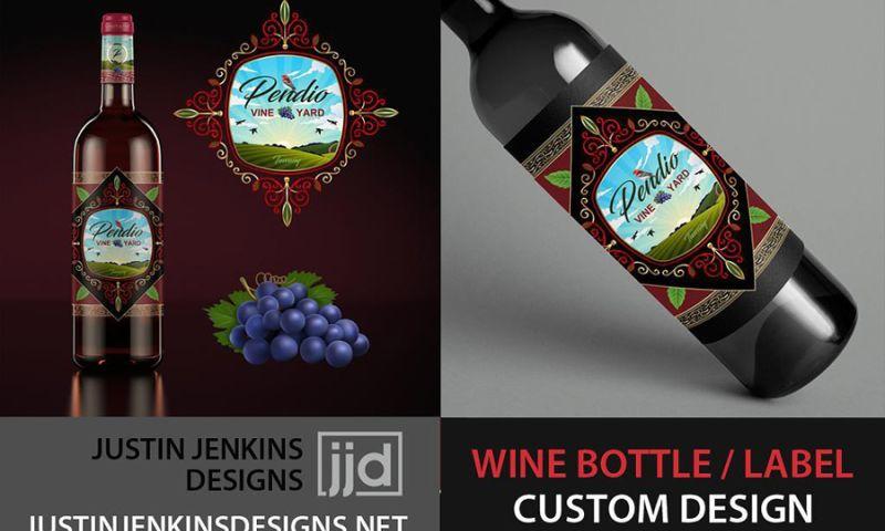 Justin Jenkins Designs - Pendio Wine   Vineyard