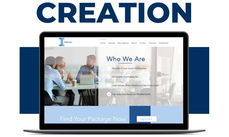 Blue Ladders Web Design - Ikanos Freelancing Website Creation