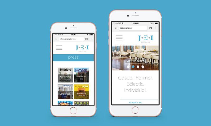 ActiveColor - Branding & website for award winning interior design firm