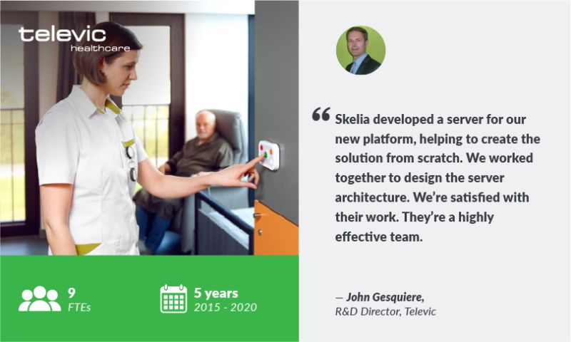 Skelia - R&D TEAM FOR TELEVIC — A LEADER IN HEALTHCARE COMMUNICATION SYSTEMS