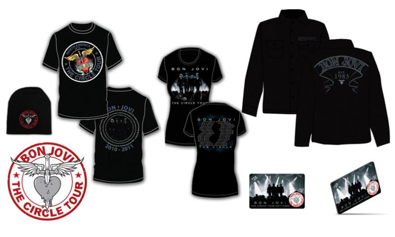 u-nique design studios - Bon Jovi Merchandise