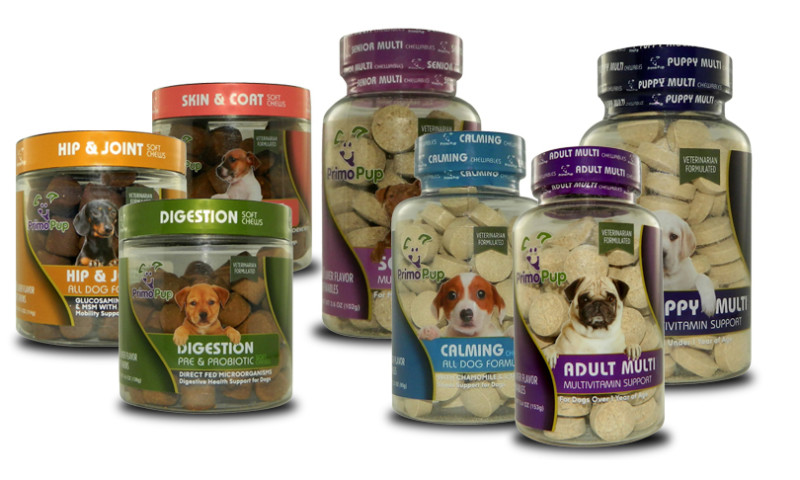 u-nique design studios - PrimoPup Dog Supplements