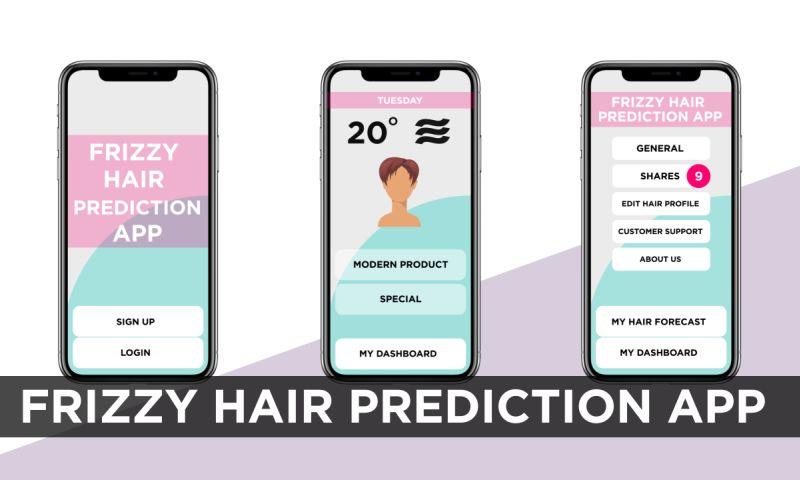 VironIT - Frizzy Hair Prediction App