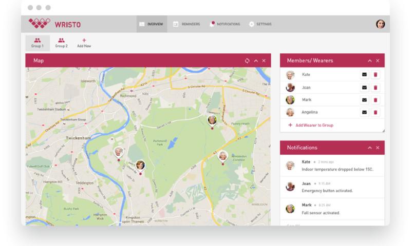 LaSoft - 'Wristo' Web Development & Product Design