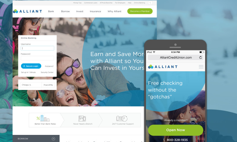 Wojo Design - Alliant Credit Union