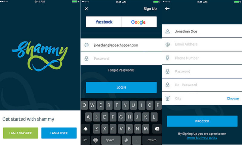 AppsChopper - Shammy: Car Wash & Grooming App