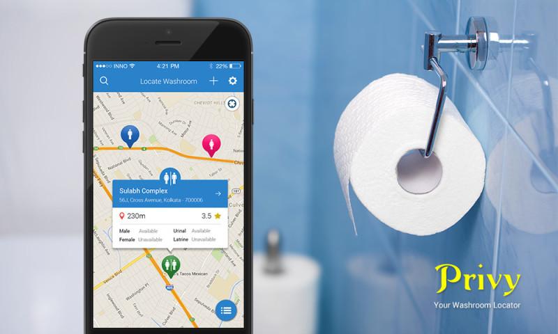 Innofied Solution - Privy - Toilet Locator
