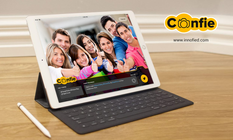 Innofied Solution - Confie - The Networking Selfy App