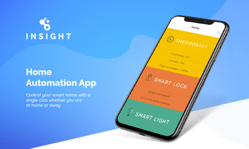 Innofied Solution - Insight - Home Automation App