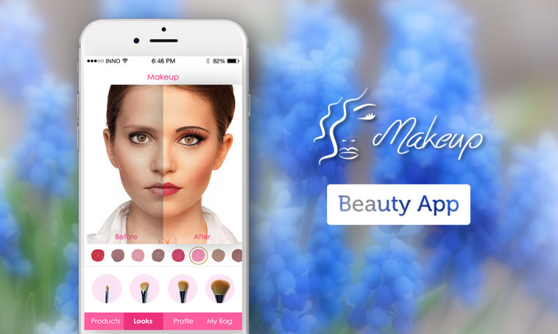 Innofied Solution - Makeup - Augmented Reality app