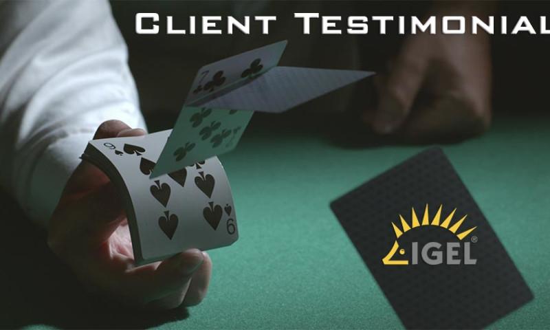 Vibrant Media Productions, LLC - Client Testimonial - IGEL Technology (VMworld Vegas)